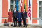 Baltijos šalių vadovų ir JAV viceprezidento susitikimas Taline