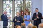 Prezidentė atsiėmė Vestfalijos taikos premiją