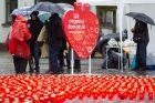 Akcija organų donorams Vilniuje