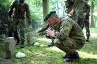 Fredoje sutvarkyti vokiečių karių kapai