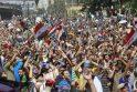 Ambasadorius D. Junevičius: konfrontacija Egipte gali atnešti baisių rezultatų