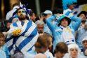 Prancūzijos futbolininkai pirmieji įžengė į pasaulio čempionato pusfinalį