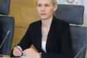VRK pirmininkė Laura Matjošaitytė