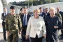 Angela Merkel (viduryje) ir Dalia Grybauskaitė (dešinėje)