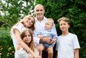Violeta Repčenkaitė su šeima