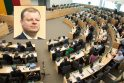 Iššūkis: Vyriausybės vadovas S.Skvernelis pripažino, kad Seimo pavasario sesija nebus lengva. Jo teigimu, laukia sprendimai, kurie palies ilgus metus nespręstas problemas.