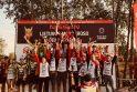 Motokroso sezono finiše – atkaklios kovos su pasaulio čempionato dalyviais