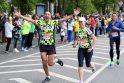 """Laikas: dešimt dienų prireikė, kad organizatoriai suskaičiuotų per """"Vilties bėgimą"""" paaukotus pinigus."""