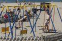 Sąlygos: klaipėdiečiai džiaugiasi, kad gyvena palankioje vietoje, šalia jūros, ir vaikų poilsio stovyklas organizuoti yra kur.