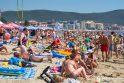 Judesys: vienas didžiausių Bulgarijos kurortų Saulėtasis krantas garsėja smėlėtu paplūdimiu ir turistų gausa. Vaizdas jame šiek tiek primena Palangą.
