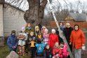 Obelis prieš Kalėdas sulaukė dovanų