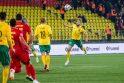 Futbolas: Lietuva-Rumunija 1:2
