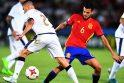 Ispanijos futbolininkai įveikė italus