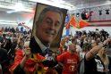 Provakarietiškasis M. Djukanovičius vėl išrinktas Juodkalnijos prezidentu