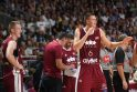 Lietuvos krepšinio rinktinė Rygoje pralaimėjo Latvijai