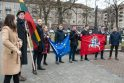 Protestas dėl M. Basčio mandato išsaugojimo