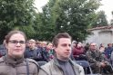 """Grupės """"Skylė"""" koncertas Pažaislio vienuolyne"""