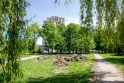 Permainos Kalniečių parke: gyventojams teks uostyti tualetų smarvę?