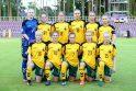 Lietuvos merginų futbolo rinktinė Europos čempionatą baigė neįmušusi įvarčių