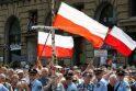 Vilniuje piketuos švietimo politika nepatenkinti Lietuvos lenkų sąjungos atstovai