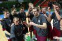 VDU krepšininkai apgynė LSKL čempionų vardus