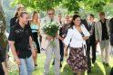 Juodkrantėje – J.Šeduikytės vestuvės ir sūnaus krikštynos