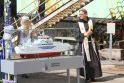 Klaipėdoje pastatytas keltas plaukios Alandų salyne