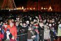 Įžiebta Klaipėdos miesto eglė