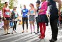 Bėgimui aukštakulniais merginos atvyko net iš Šiaulių