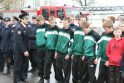 Šv. Florijono dieną Klaipėdos ugniagesiai šventė kukliai