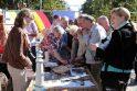 Tūkstančio stalų šventėje poilsiautojų antplūdžio nesulaukta