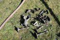 Gaisras sunaikino Paštuvos bažnyčią Kauno rajone