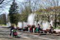 Jau penkioliktą sezoną uostamiestį gaivins fontanas