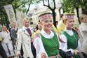 Kaune nuaidėjo pirmieji Dainų šventės akordai