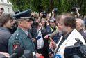 Po įvykių Garliavoje – mitingas prie Prezidentūros