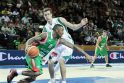 Klaipėdos arena: sunki slovėnų pergalė prieš bulgarus