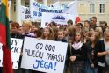 Radikalūs seimūnai bando sutrukdyti lenkų mitingą