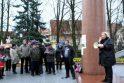 Piketuotojai Klaipėdoje koneveikė teismus ir būsimą gamyklą