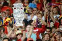 """Ispanija """"Euro 2012"""" finale čempioniškai sutrypė italus"""