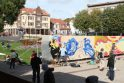 Klaipėdos centre – grafitininkų čempionatas