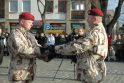 Kariai išlydėti į Afganistaną