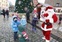 Lietus ir vėjas išvaikė klaipėdiečius iš kalėdinės mugės