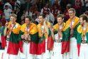 FIBA reitinge Lietuvos vyrų krepšinio rinktinė pakilo į penktąją vietą