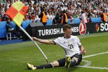 Vokietijos rinktinė palaužė Šiaurės Airijos futbolininkus ir tapo grupės nugalėtoja