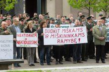 Miškininkai žada didžiausią mitingą šalies profesinių sąjungų istorijoje