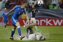 Pasaulio čempionai pralaimėjo slovakams