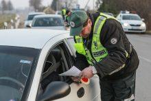 Savaitgalį vairuotojai važiavo nepaisydami greičio ribojimo