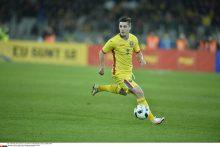 Europos čempionatui besirengiantys Rumunijos futbolininkai sužaidė lygiosiomis