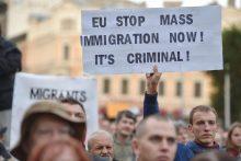 Į Latviją atvyko pirmieji pabėgėliai