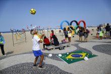 Istorikas: Rio de Žaneiro olimpiadoje pirmą vietą užims skurdo vaizdai